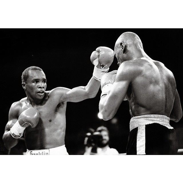 Sugar Ray Leonard - Marvin Hagler
